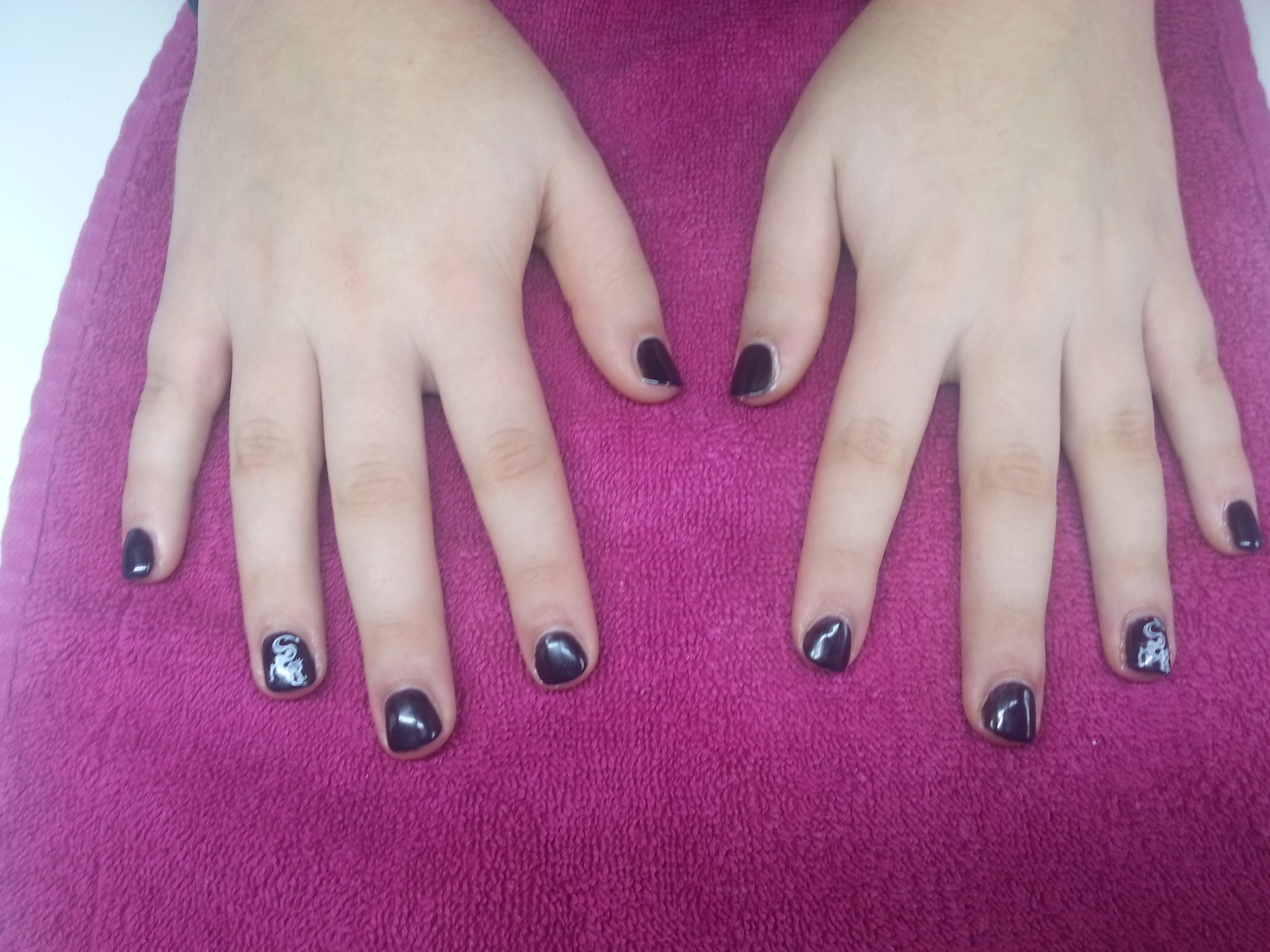 Vernis semi permanent sur ongles courts - Vernis ongle court ...